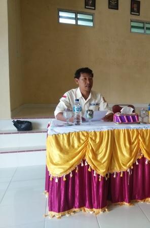 Andika, Ketua Subcab NGO SEBORA Kecamatan Palmatak