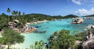 Pulau Nongkat, Desa Putik Kecamatan Palmatak